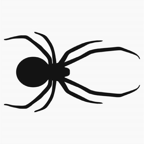 Shadow clipart spider #12