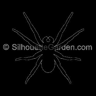 Shadow clipart spider #15