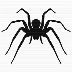 Shadow clipart spider #3