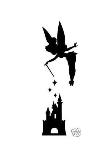 Shaow clipart tinkerbell Silhouette silhouette tattoos silhouette love