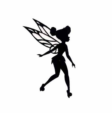 Shaow clipart tinkerbell Cut FreeClipart Silhouette Silhouette Tinkerbell