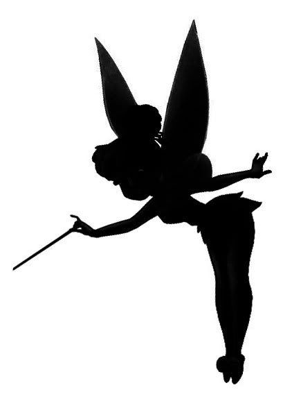 Shaow clipart tinkerbell On Silohette more Tinkerbell Find