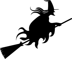 Shadows clipart witch Art halloween Clip clipart Free