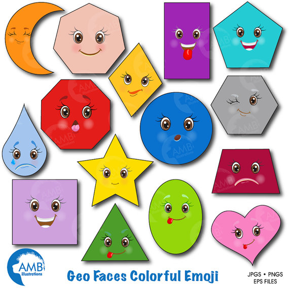 Shapes clipart Clipart Download Shapes Basic collection