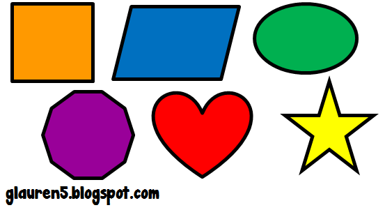 Shapes clipart Clipart clipart Geometric Basic collection