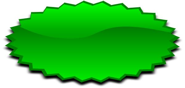 Shapes clipart burst #5