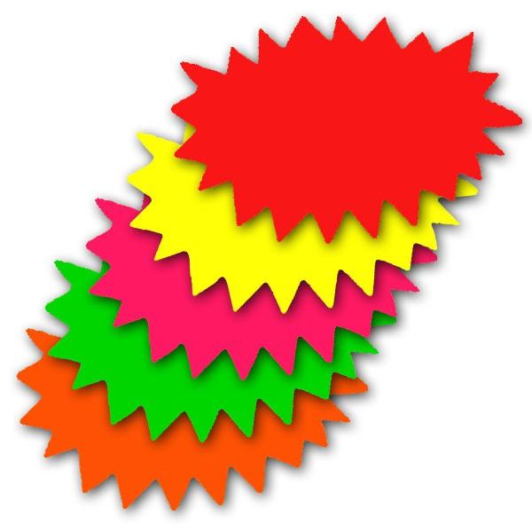 Shapes clipart burst #14