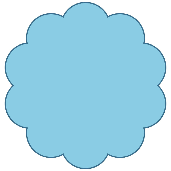 Shapes clipart circle outline #6