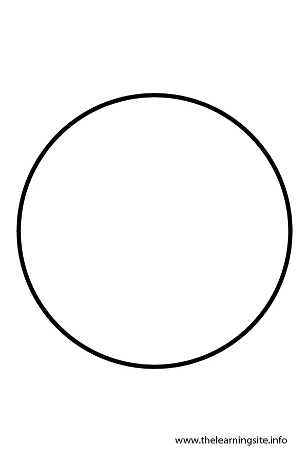 Shapes clipart circle outline #7