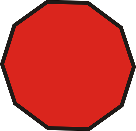 Shapes clipart dodecagon #10