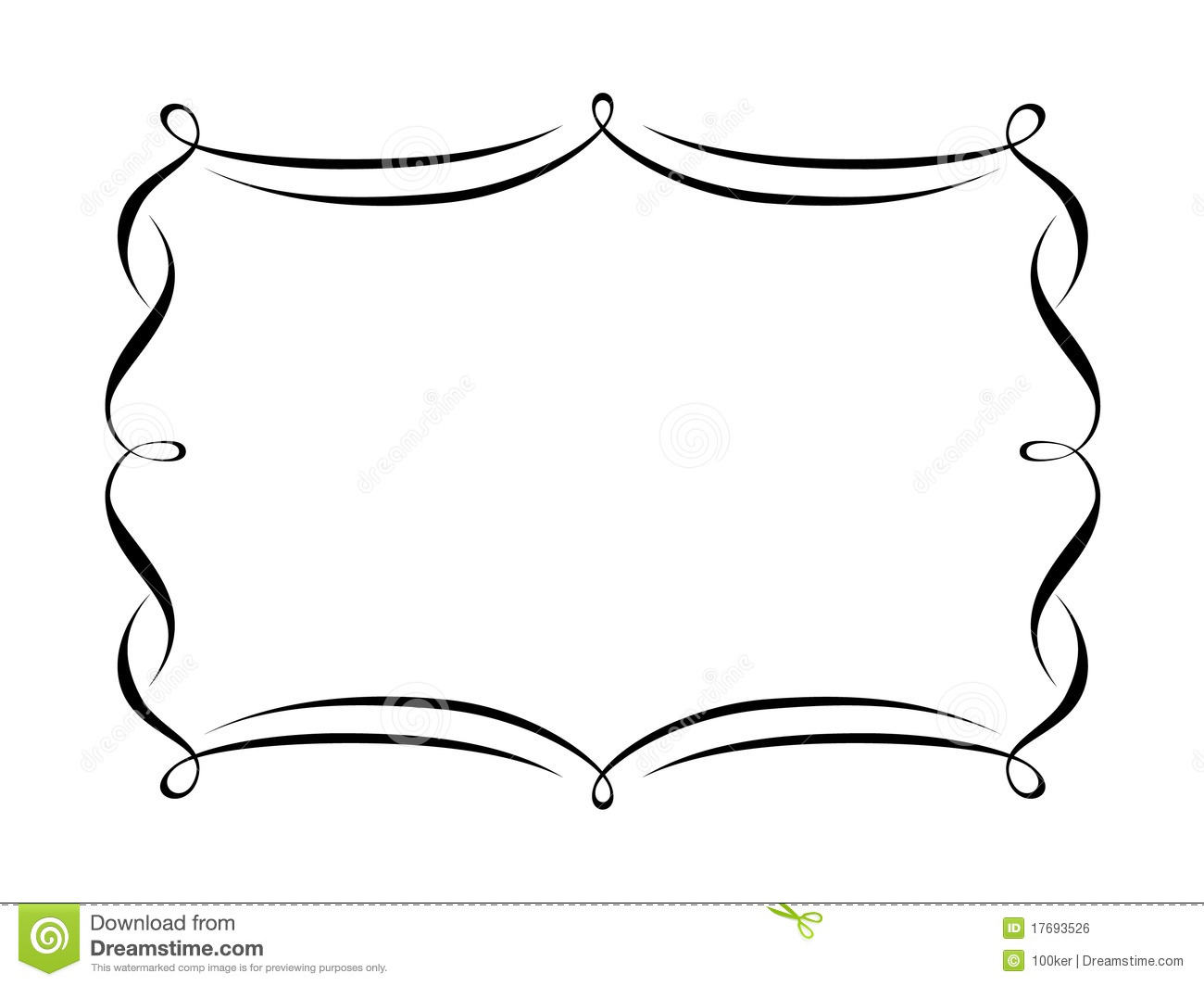Shapes clipart frame #10
