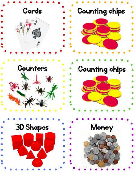Shapes clipart math manipulative #13