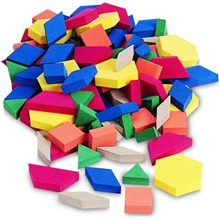 Shapes clipart math manipulative #15