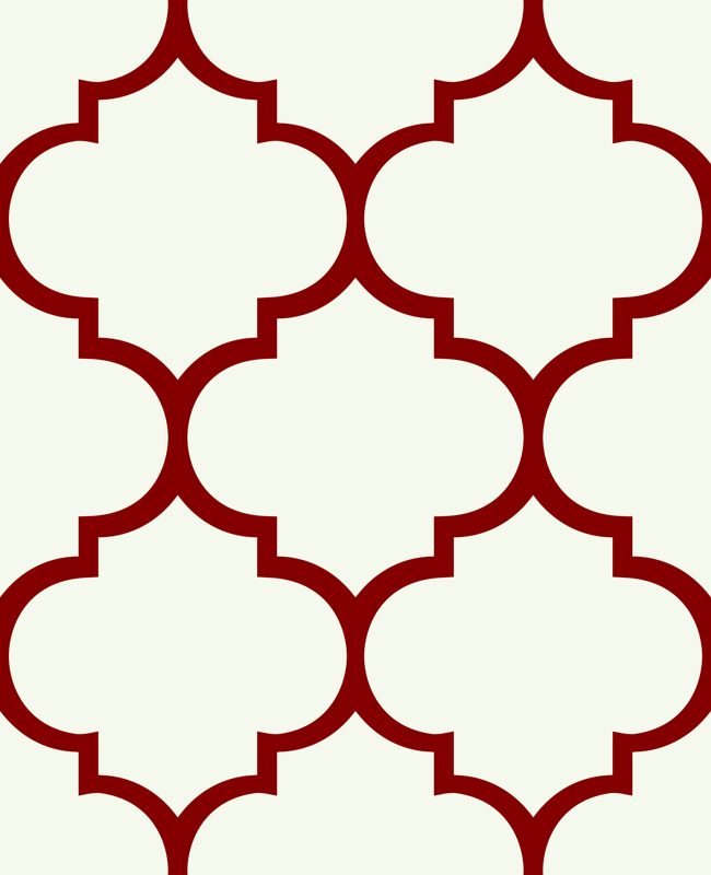 Shapes clipart moroccan #15