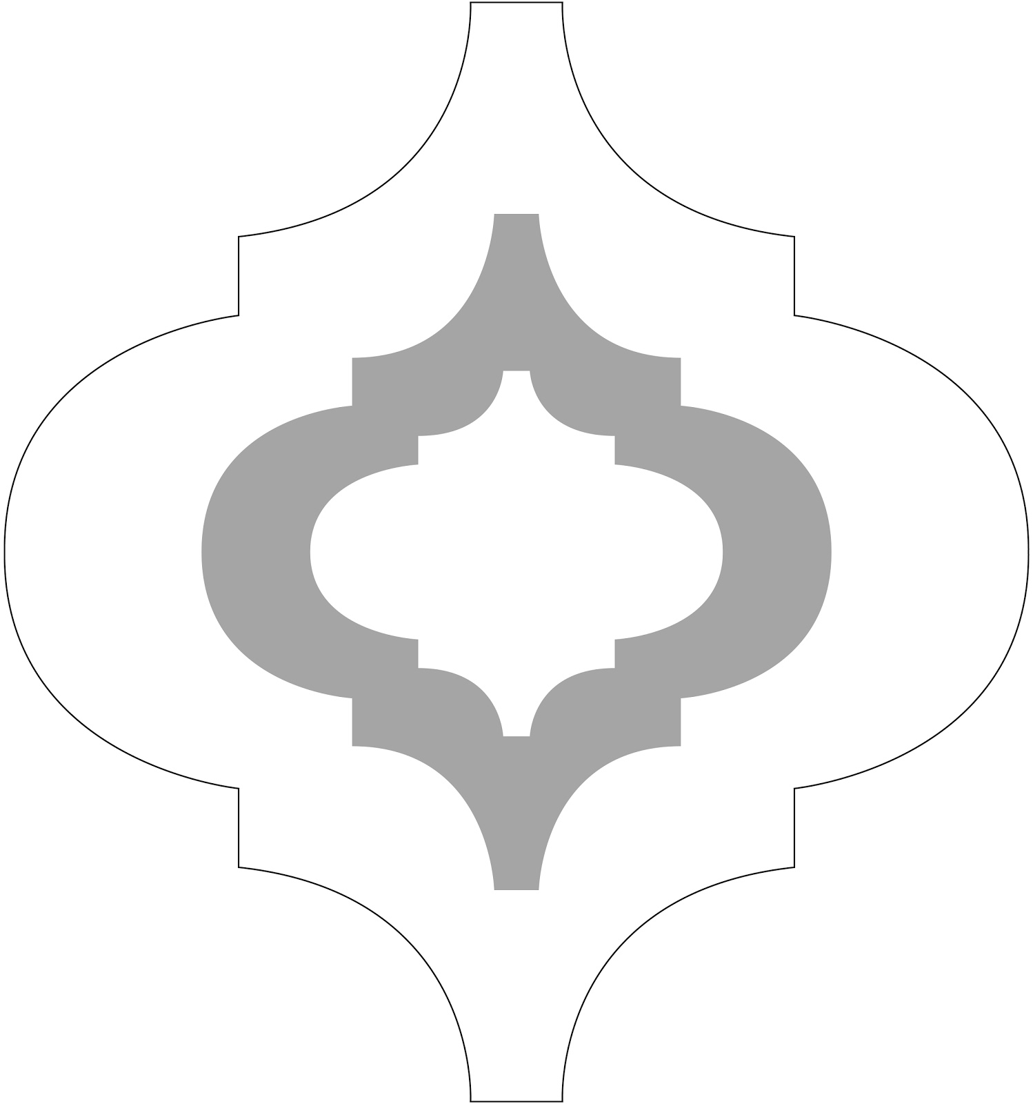 Shapes clipart moroccan #3