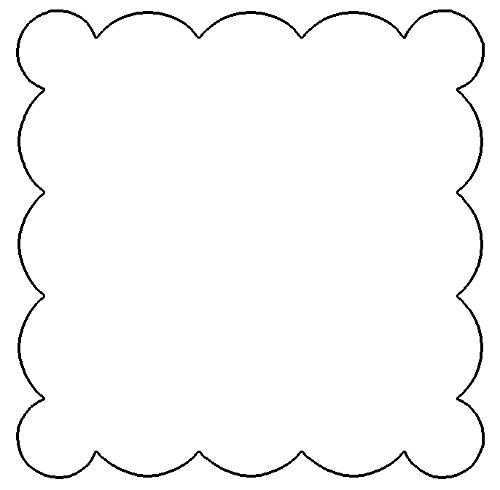 Shapes clipart printable banner #14