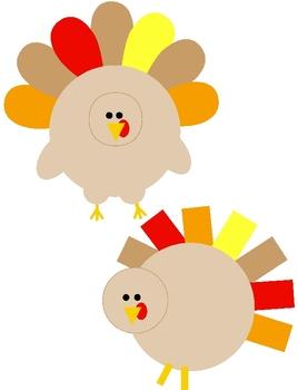 Turkey clipart shape #7