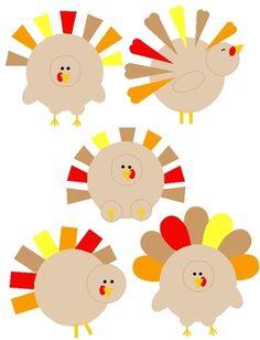 Turkey clipart shape #5