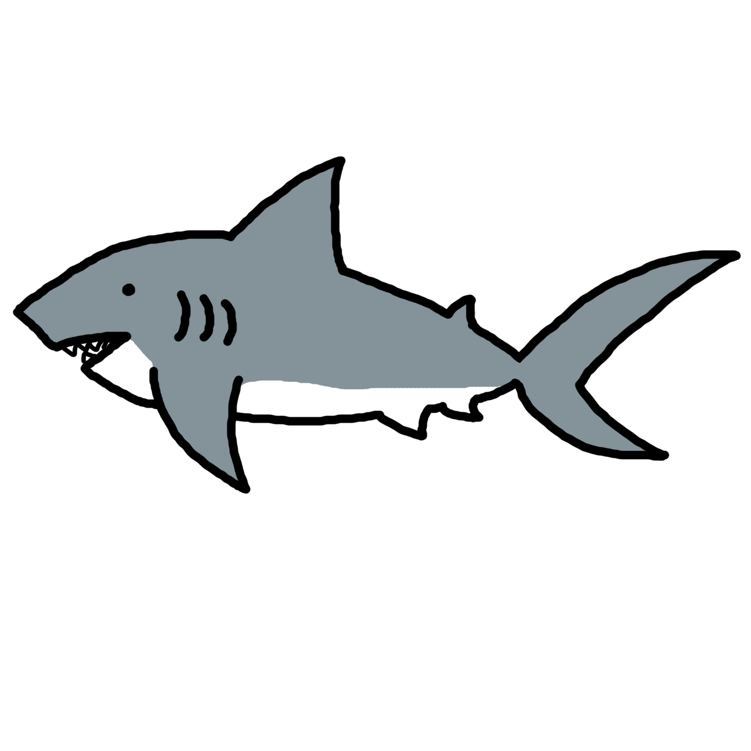 Sharkwhale clipart friendly shark #3