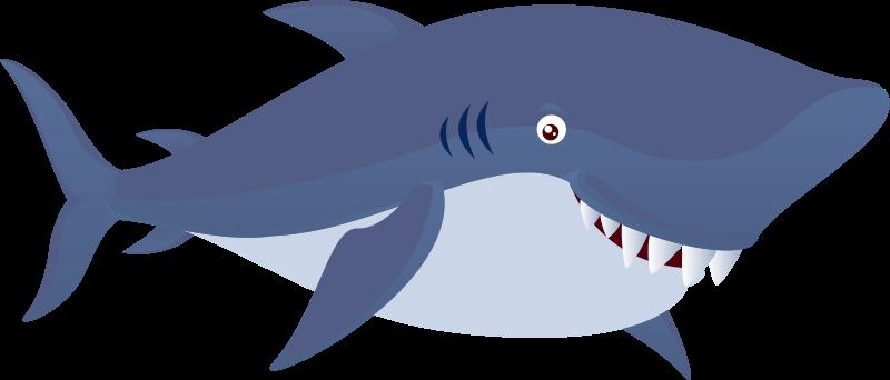 Shark clipart Free Clip Images Panda Shark