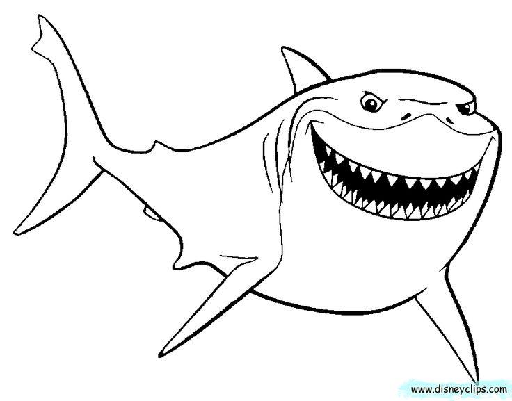 Shark clipart bruce #15