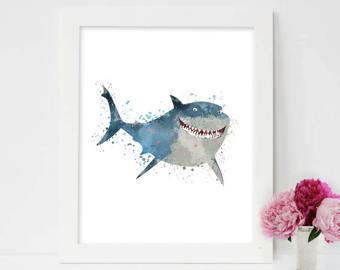 Shark clipart bruce #9
