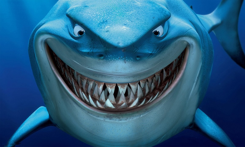 Shark clipart bruce #12