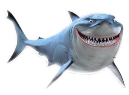 Shark clipart bruce #14