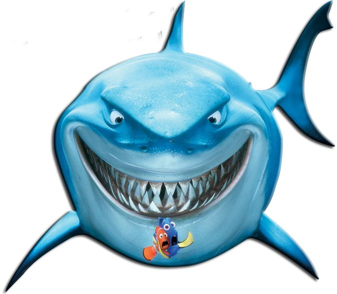 Shark clipart bruce #5