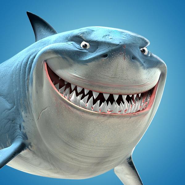 Shark clipart bruce #13