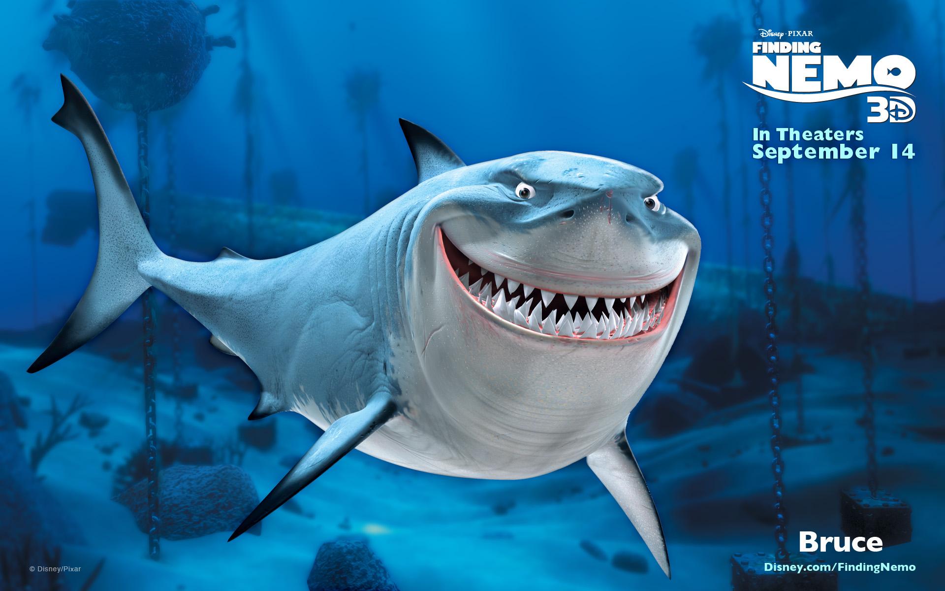 Shark clipart bruce #6
