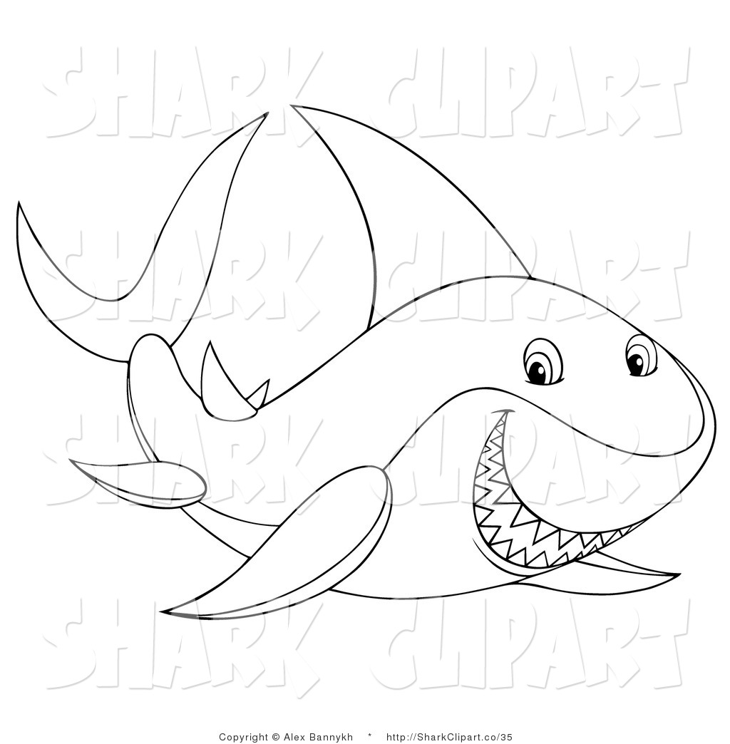Tiger Shark clipart sea creature #4