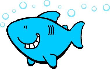 Shark clipart for kid #11