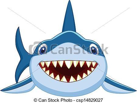 Shark clipart for kid #7