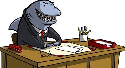 Shark clipart for kid #10