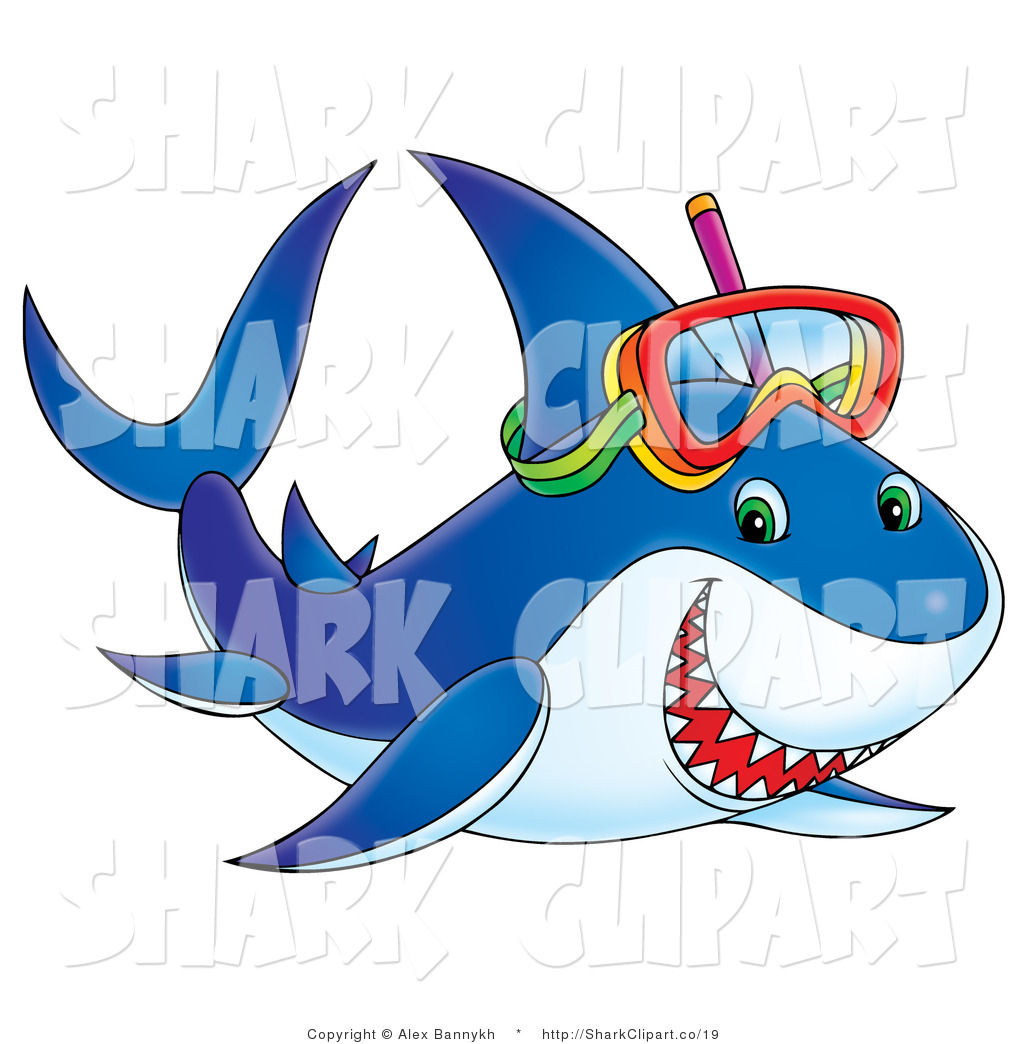 Bull Shark clipart happy  Shark