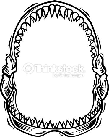 Shark clipart jaws #9