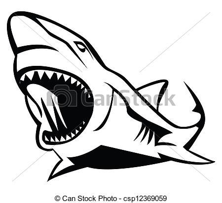Shark clipart jaws #10