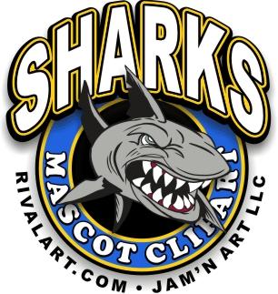 Tiger Shark clipart mean #1