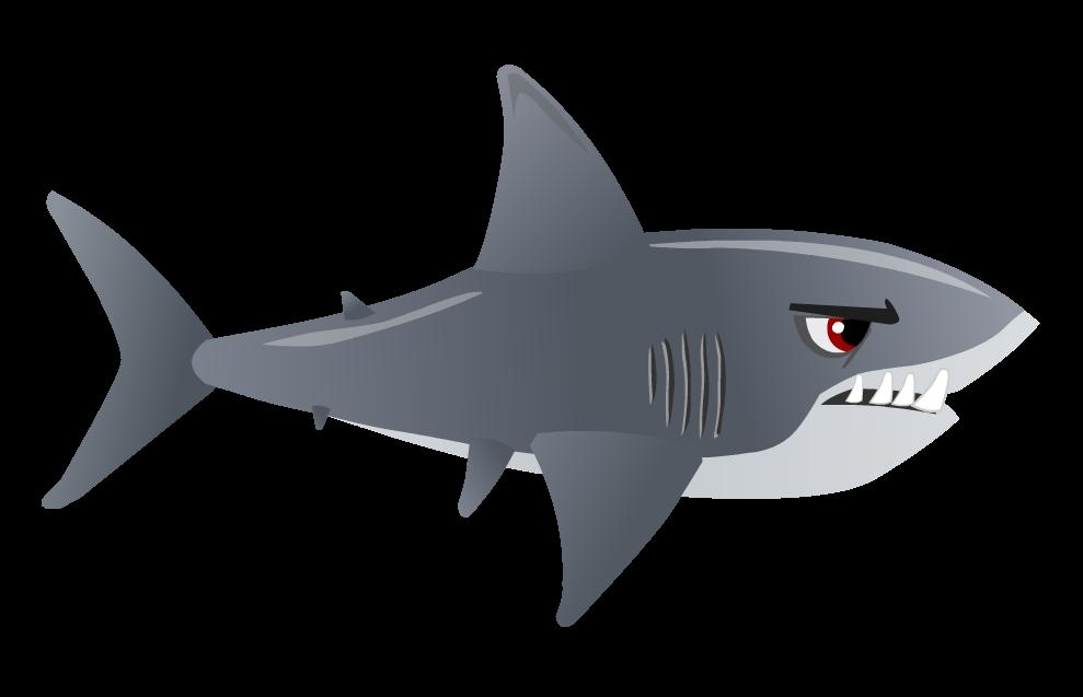 Tiger Shark clipart gills #1