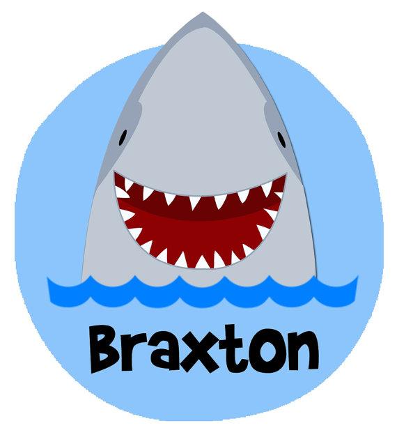 Shark clipart shark face #15