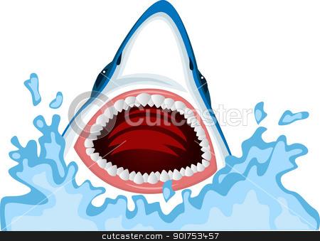 Shark clipart shark head #4