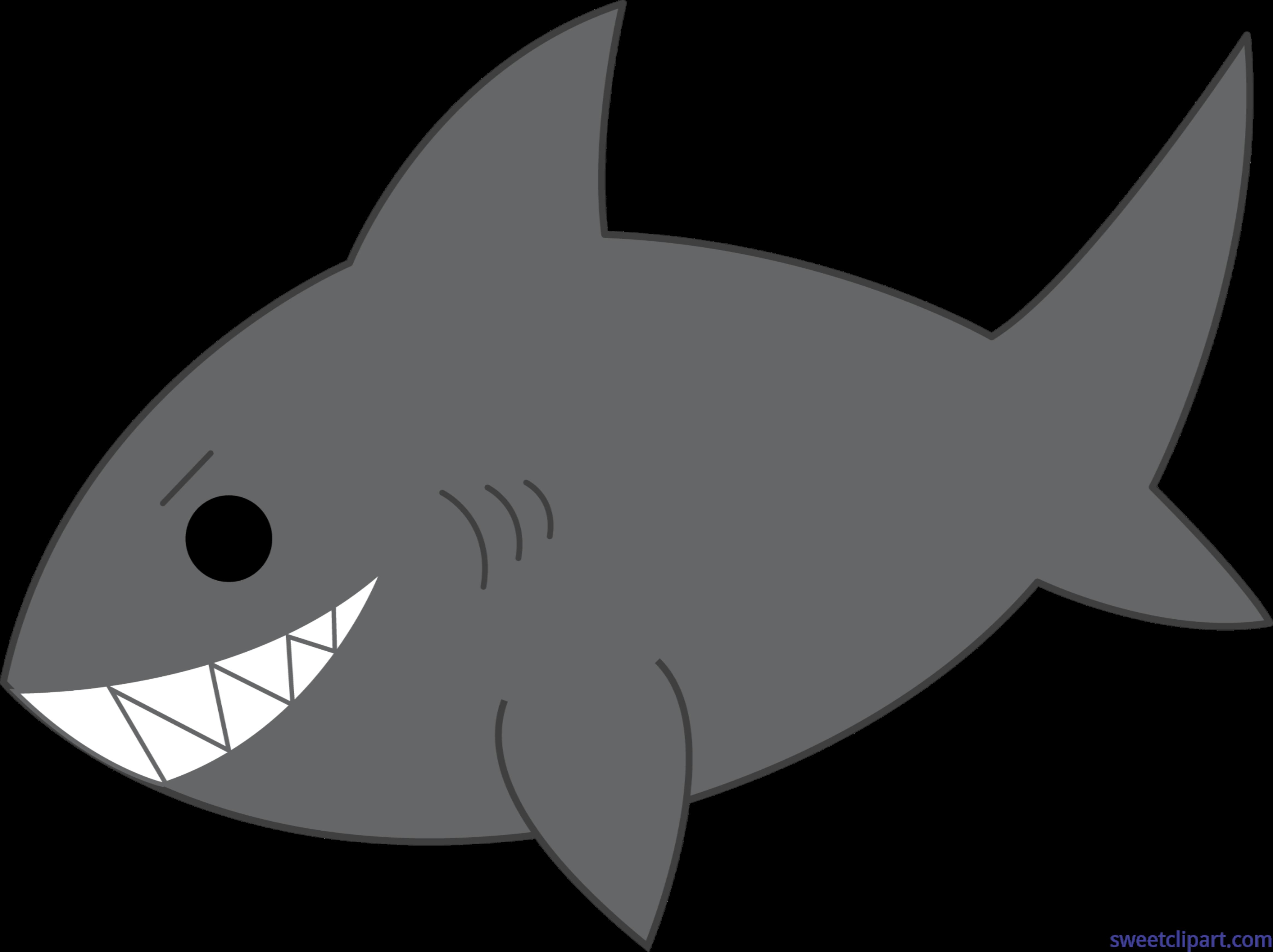 Shark clipart sweet #4