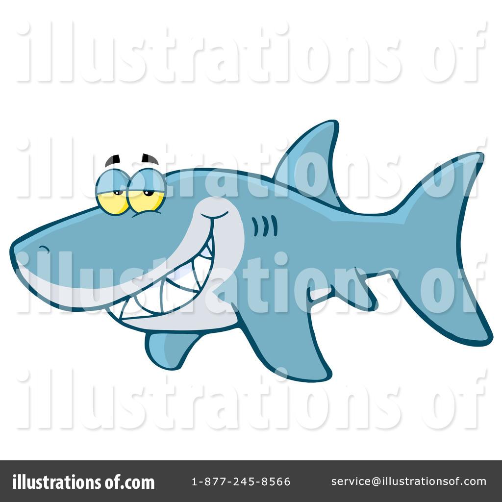 Shark clipart toon #11
