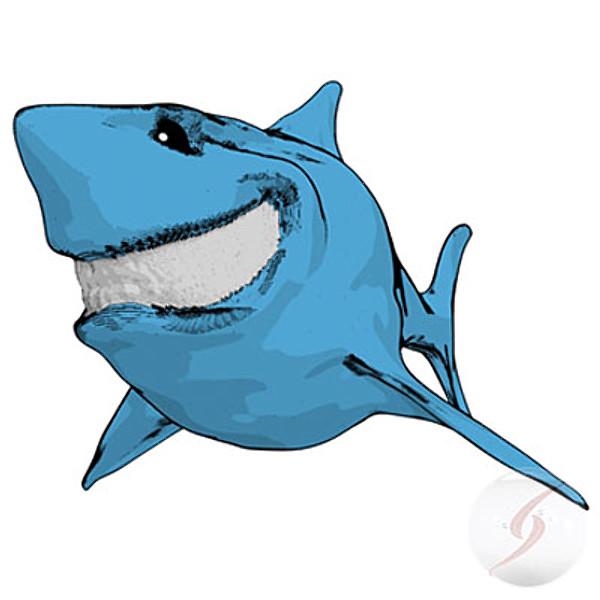 Shark clipart toon #12