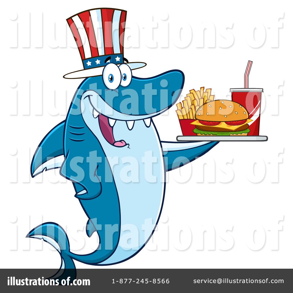 Shark clipart toon #9