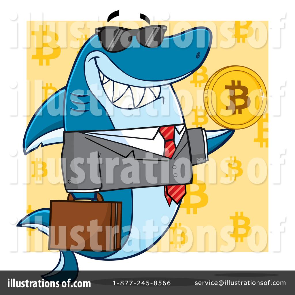 Shark clipart toon #7