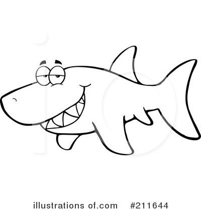 Shark clipart toon #5