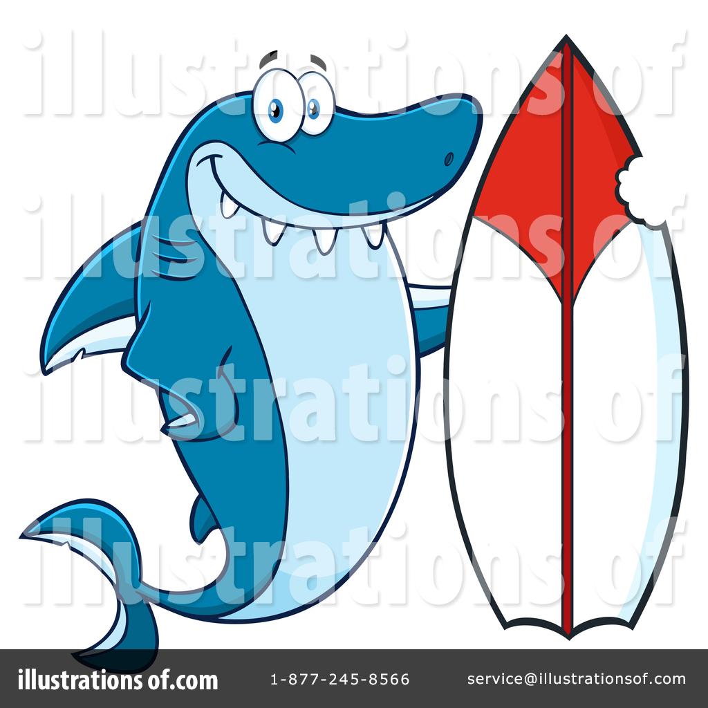 Shark clipart toon #10