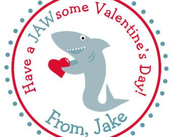 Shark clipart valentine #9